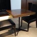 イ・ヴェンティチェッリ - ☆2名掛けのテーブル席☆