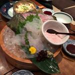 Hokkaidoubussan - かわはぎ活け造り