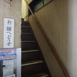 泰南 - 1階はカウンターのみ、満席で2階に