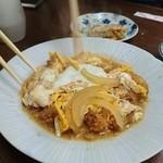 天いさ - 料理写真:煮かつ!