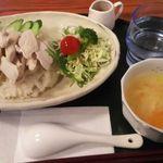 十文字カフェ - チキンライス(カオマンガイ)