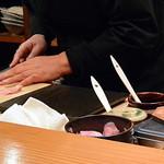 鮨 とびこめ - お寿司は一貫づつ握って出してくれます