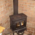 カフェトゥーリー - 冬の寒さは暖炉が心まで温めてくれます(*^_^*)