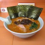梅浜亭 - 辛子味噌ラーメンです。