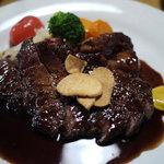 京 五条 - 牛ステーキ