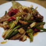 京 五条 - ピリ辛野菜炒め