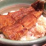 うな丼薩摩 - 料理写真:肉厚 鰻丼 2100円