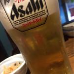 おもいで横丁 - 生ビール