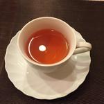 松原亭 - 紅茶!何も入れなくても美味しい!