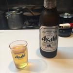 ひょうたん - ドリンク写真:ビール 大瓶 スーパードライ(700円)