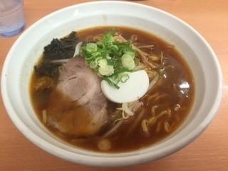 麺屋 彩未 - 辛醤油ラーメン 800円