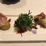 47454752 - 牡蠣のフリットとジャガイモ
