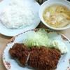 みのや - 料理写真:ロースかつ定食 750円(税込)