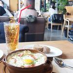 カフェ サカイ - 冬野菜のグラタン -生ハムと卵をのせて(¥1188)