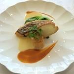 レストランアンド - 鯛のポワレ