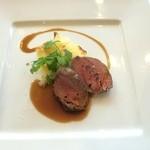 レストランアンド - 牛フィレ肉のグリエ