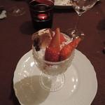 ビストロノミー・ラトリエ1959・ヨコハマ - フルーツコンポート。デザートも美味