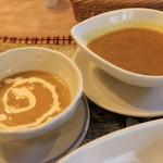 カフェ パルコル - チベットカレーとラマカレー