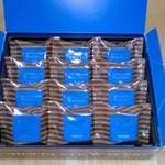 ロイズ さっぽろ東急店 - ロイズ  チョコレートウエハース(ヘーゼルクリーム12個入)箱の中【2016年2月撮影】
