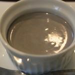 アイカフェ - とある日のAランチ(cafeご飯)黒胡麻プリン