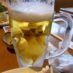 博多しゃぶしゃぶ 彩 - ビール