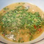 Aji-Q - 温つけ麺 スープ