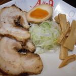 Aji-Q - 温つけ麺 別皿トッピング
