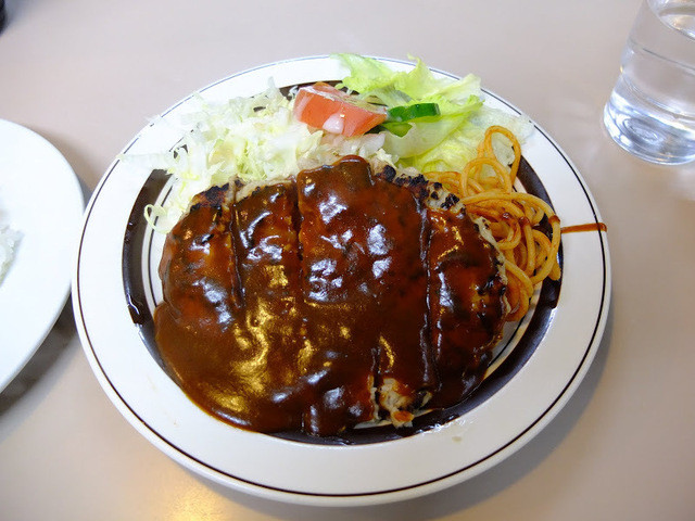 フジランチ - ハンバーグステーキ