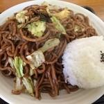 たけしや - 肉ランチ 麺大盛