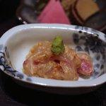 銀座 きた福 - 鯛茶漬け用の鯛