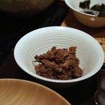 銀座 きた福 - 牛肉のしぐれ
