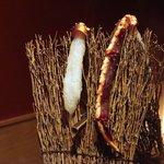 銀座 きた福 - たらば蟹の刺身