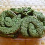 マダムミチコ工房 - 抹茶というより新緑を思わせる色合い☆