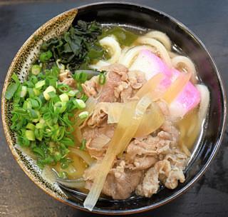 三里うどん - 肉うどん