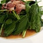 キリンシティプラス - ほうれん草のサラダ