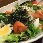 坐・和民 - 和民サラダ 550円 思ったよりずっとデカイ!超お得なサラダ。味もとても美味しい!