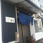 地魚料理 おくむら - お店の入口。