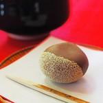 二の丸茶亭 - 料理写真:栗の上生菓子