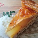 おおむろ軽食堂 - 国産りんごの[アップルパイ]