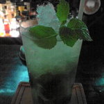 shot bar アメリカ物語 - モヒートです!