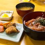 柳橋食堂 - 山笠セット