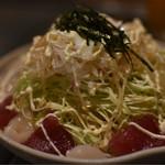 鉄板酒場 壱○弐 - カルパッチョ風海鮮サラダ