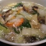 47471892 - 野菜たっぷりあんかけ麺(牛蒡麺)