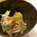 炭焼 小料理 わさび - 海老芋ポテトサラダ