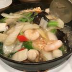 ぷんぷくまる - 料理写真:海鮮おこげ