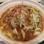 47477126 - 八丁味噌の野菜ラーメン880円
