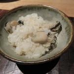 47479834 - 佐賀のいろは島の天然牡蠣と生姜の混ぜご飯3