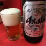 47480090 - 瓶ビール(アサヒスーパードライ大瓶)