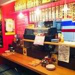 ソウルフード バンコク - 内観写真:酒場風のカウンターは、タイ人コックとコミュニケーションもとれます!
