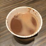 リンツ ショコラ カフェ  - ホットチョコレート